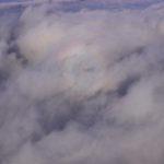 ブロッケン現象と富士山と上空の放射線量(0.55μSv/h)